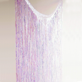 Парти завеса, Iridescent Curtain