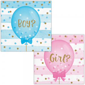 Gender Reveal, Малки салфетки