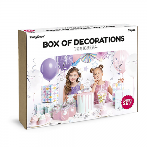 Decoration Set, Unicorn