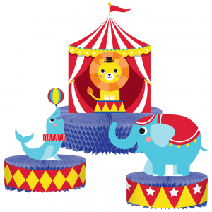 Circus Party, Декорация за маса