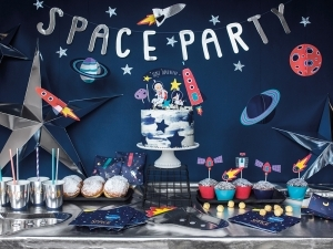 Space Party, Парти банер